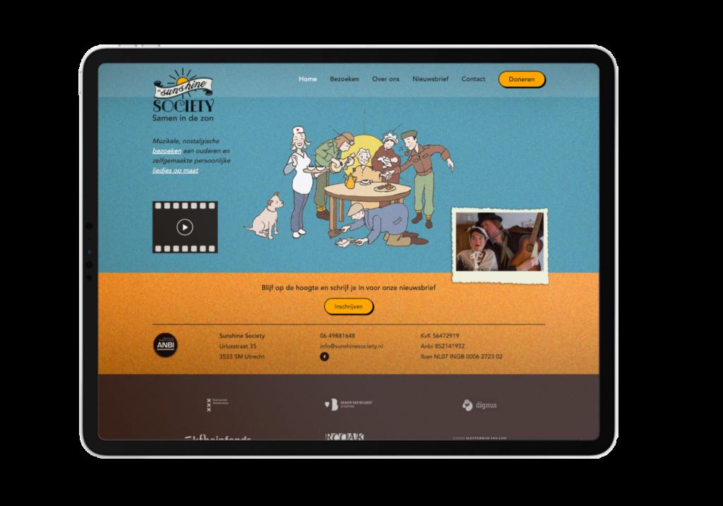 Sunshine Society homepage